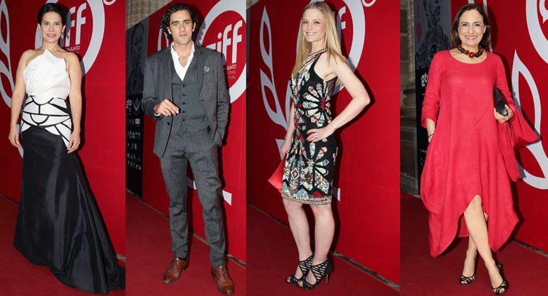 Lluvia de celebridades en la clausura del Festival Internacional de Cine Guanajuato