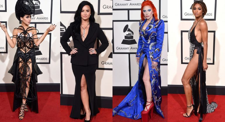 Looks de horror en los Grammy Awards 2016