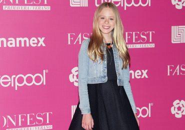 Loreto Peralta en el Fashion Fest de Liverpool