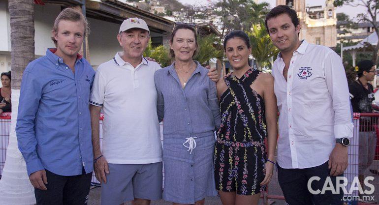 Los Brockmann en la regata 'Copa Centenario' de Puerto Vallarta