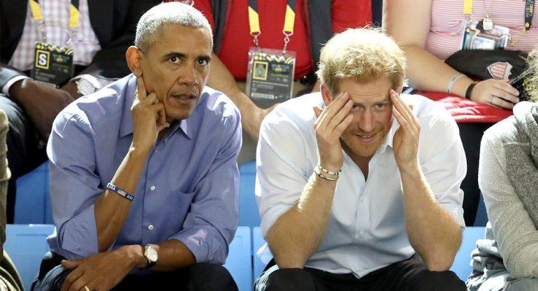 Los Obama no están invitados a la boda de Harry y Meghan