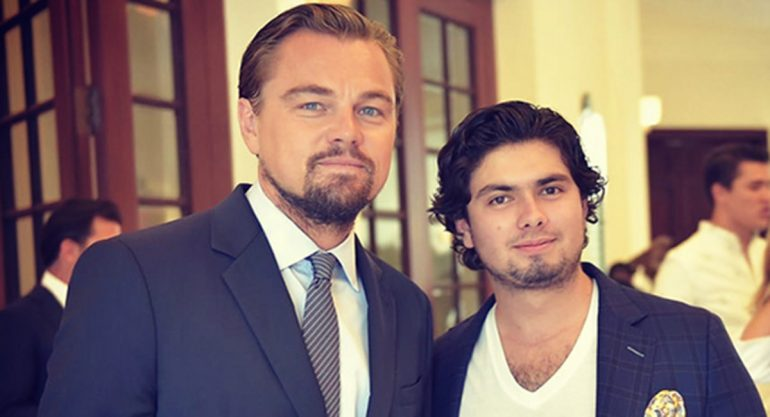 Los Peña conocen a Leonardo DiCaprio