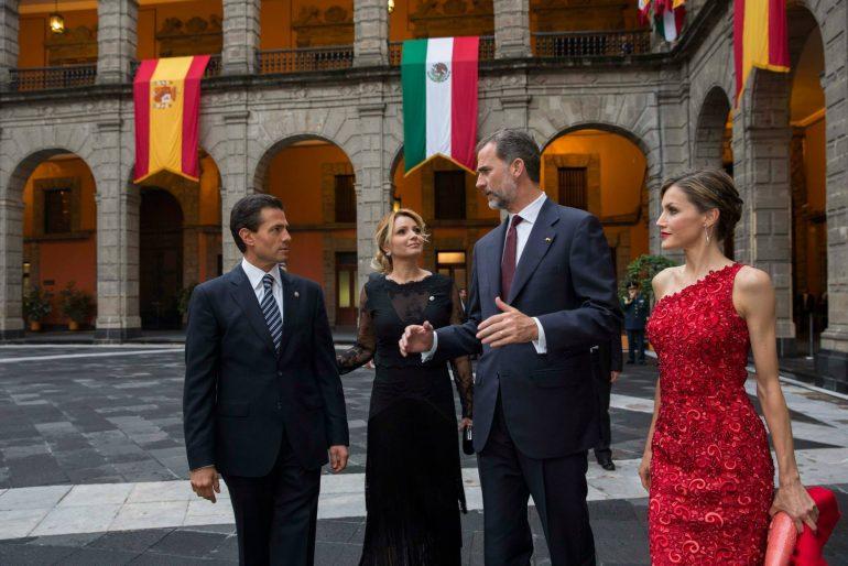 Los Reyes de España en Palacio Nacional