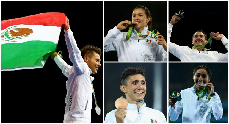 Los atletas que pusieron en alto el nombre de México en Río