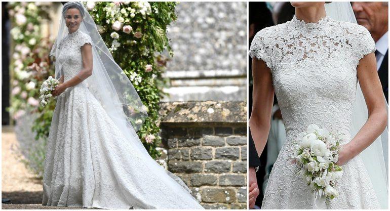 Los detalles del vestido de novia de Pippa Middleton