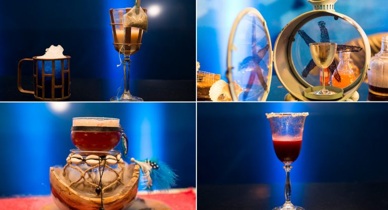Los drinks ?The most imaginative bartender latinoamerica? de Bombay Shappire