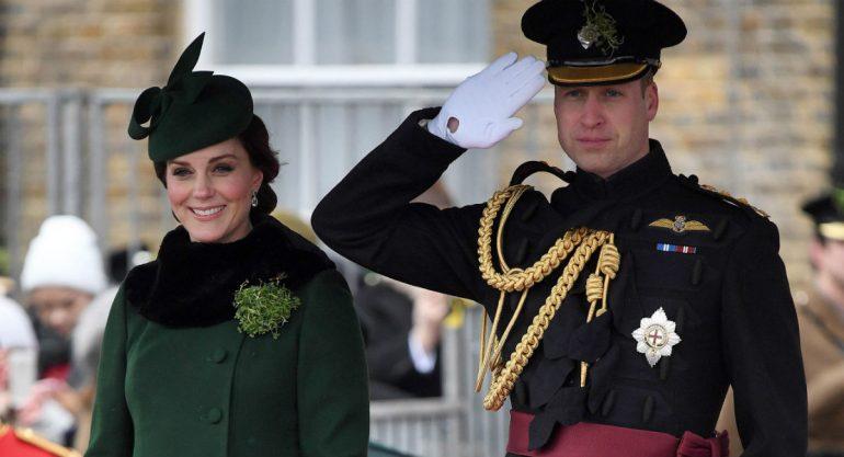 Los duques de Cambridge celebran el Día de San Patricio