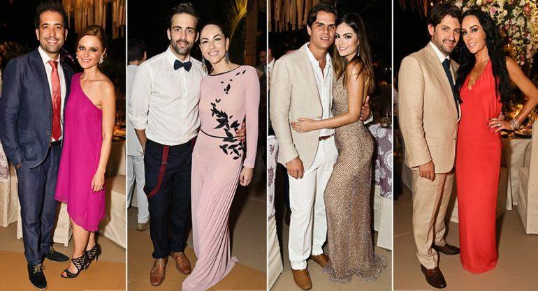 Los invitados a la boda de Billy Rovzar y Claudia Álvarez