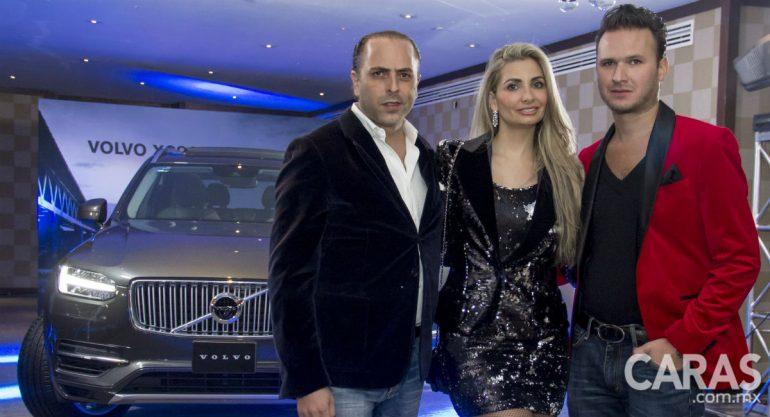 Los invitados de Caras Glitter conocieron de cerca el nuevo modelo de Volvo