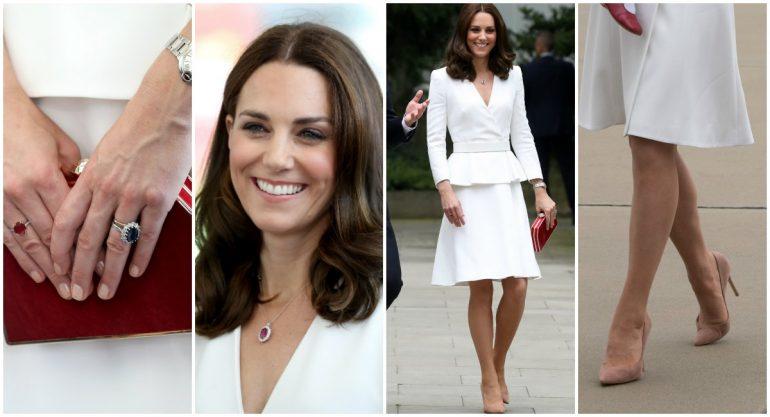 Los looks de Kate Middleton en su visita a Polonia y Alemania