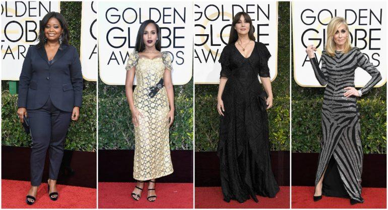 Los looks más desafortunados de los Golden Globes 2017