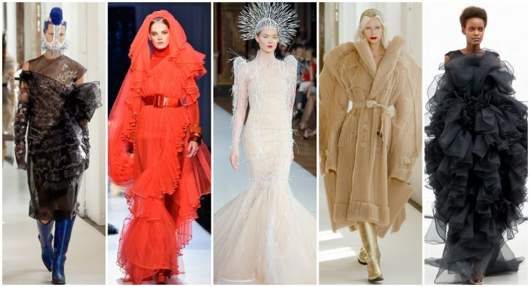 Los looks más excéntricos del Haute Couture Paris Fashion Week