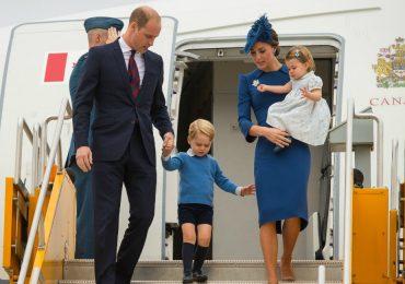 Los mejores momentos de la llegada de William y Kate a Canadá