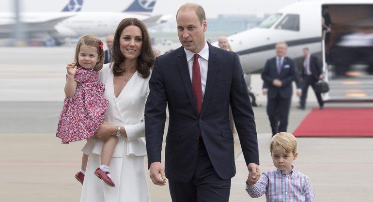 Los momentos adorables de los príncipes George y Charlotte en Polonia