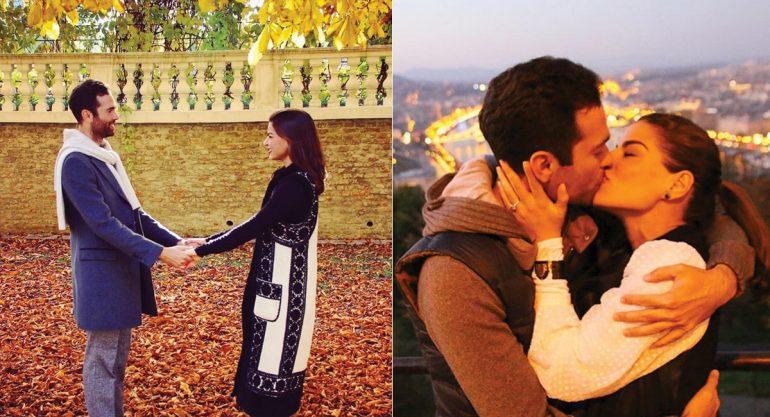 Los momentos más románticos de Alejandro Hank Amaya y Bárbara Coppel