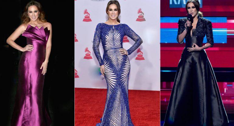 Los outfits de Jacky Bracamontes en la noche de los Latin Grammy