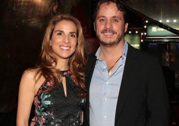 Lourdes Domenzain y Gerardo del Villar en el lanzamiento de un nuevo documental