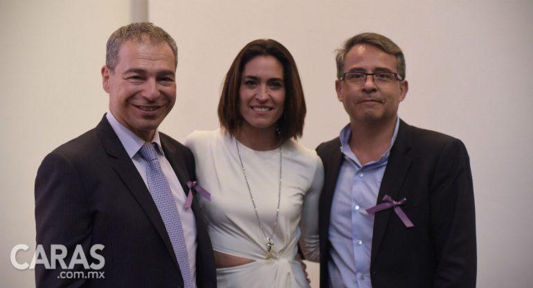Luz María Zetina en el coctel de Fundación Medita en el MYT