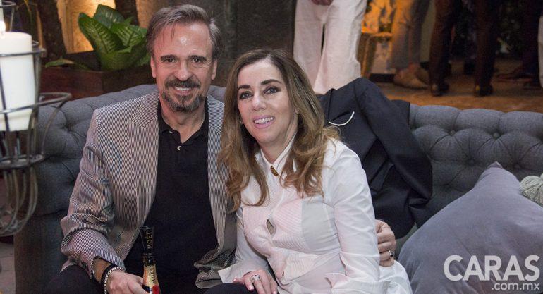 Mónica y Emilio Lanzagorta en La Maison