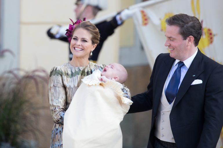 Magdalena de Suecia bautiza a su hijo Nicolás