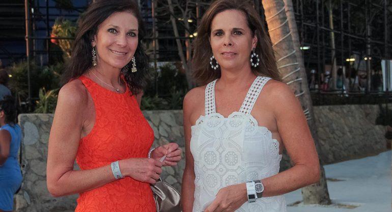 Marcela Barrios y Ana Paula de Haro en el Abierto Mexicano de Tenis