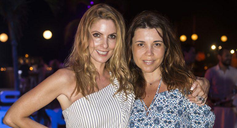 Marcela Cuevas y Lucero Lebrija en la fiesta del AMT Los Cabos