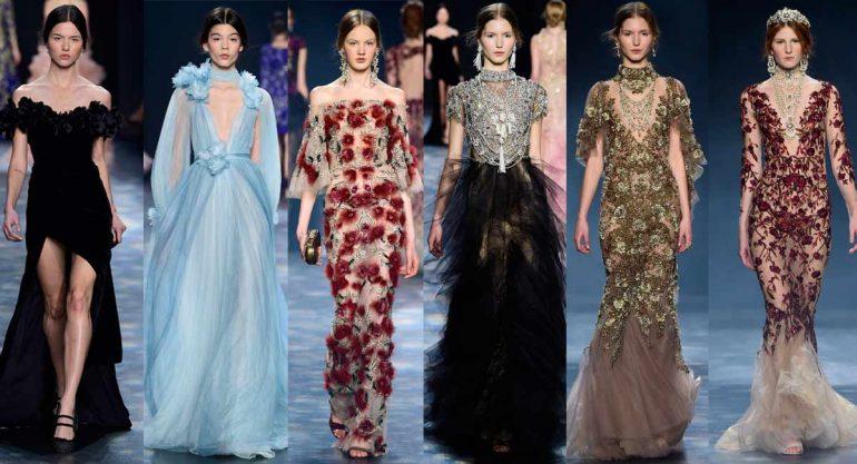 Marchesa presenta su colección en el Fashion Week NY
