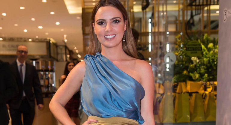 Mariana Torres en la premiación del Festival de Belleza del Palacio de Hierro