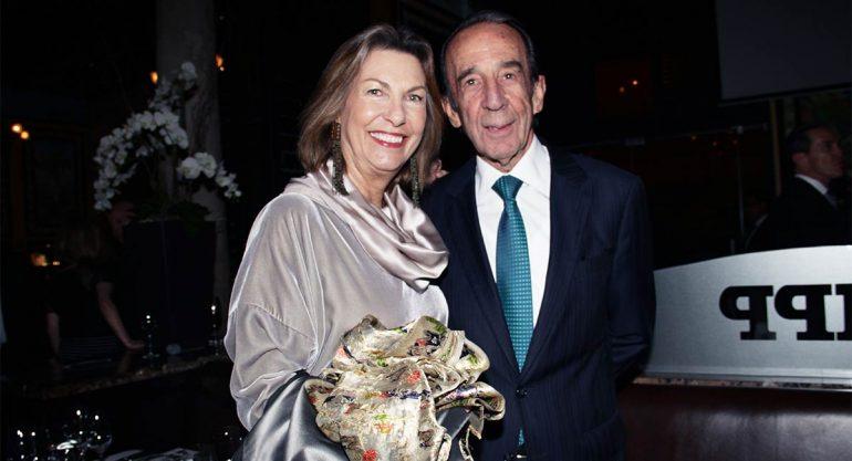 """Marie Thérèse y Manuel Arango en la cena """"Unidos por una Oportunidad"""""""