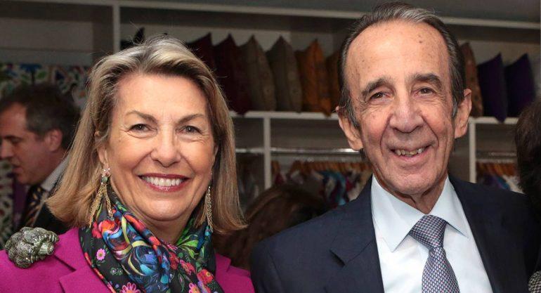 Marie Thérèse y Manuel Arango en la inauguración del MAP Polanco