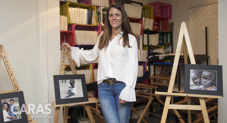 Marina Armida inaugura su exposición 9 countries 9 weeks