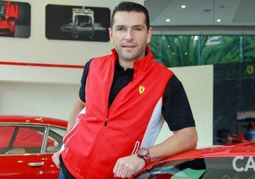 Martín Fuentes busca hacer historia en el automovilismo