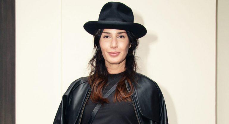 Martha Cristiana en el lanzamiento de la colección de Lorena Saravia