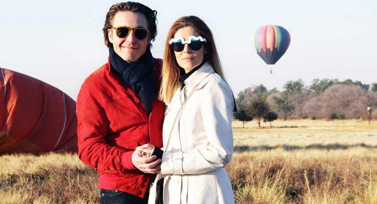 Mateo Gorina y Michelle Torres: Amor en las alturas