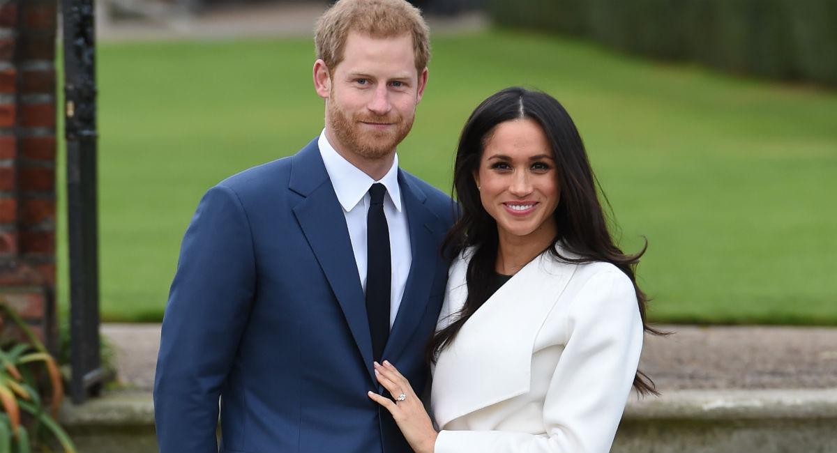 Meghan Markle brilla en su primera aparición pública como prometida del príncipe Harry