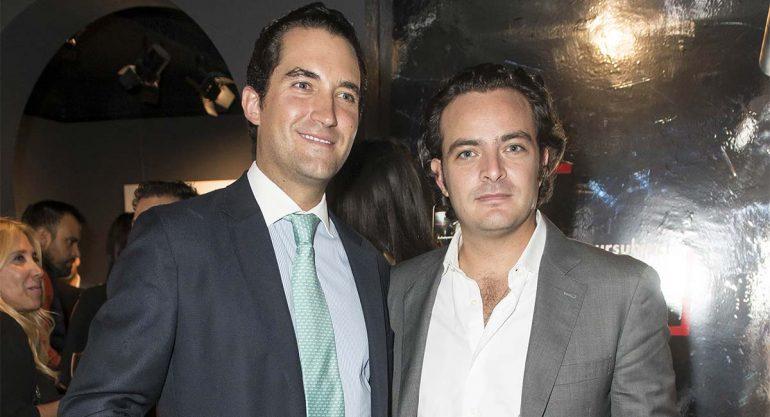 Miguel Osio y Pepe Cuaik en la inauguración de 'Subjet'