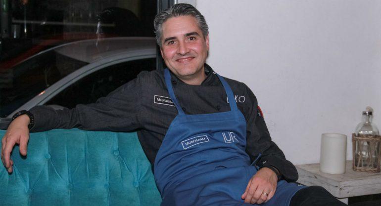 Mikel Alonso se unió a la experiencia `Cocinando entre amigos´