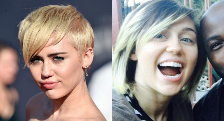 Miley Cyrus estrena look