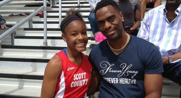 Muere la hija del velocista Tyson Gay en tiroteo