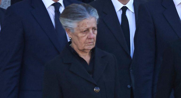 Muere la infanta Alicia de Borbón