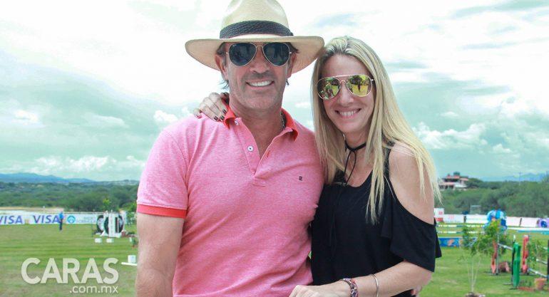 Pablo Toscano y Laura Carminati en el Gran Premio Bupa Otomi