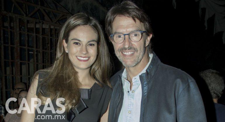 Paola Albarrán y Fernando Landeros en la black carpet de 'Catarsis'