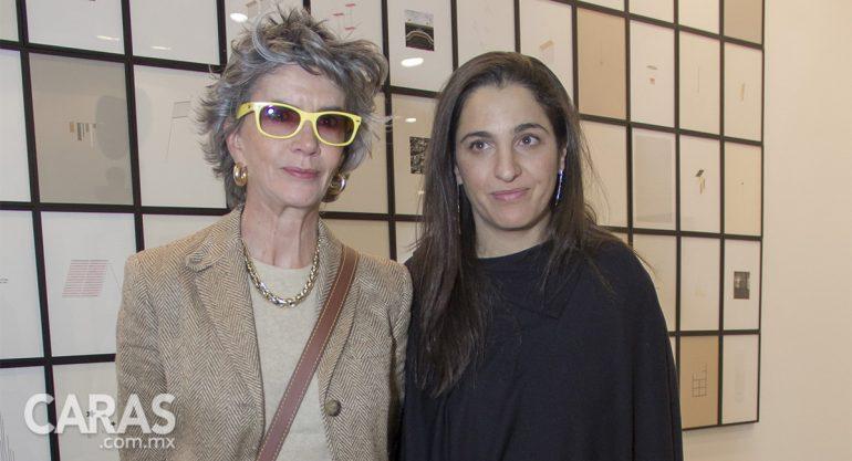Patricia Ortiz Monasterio y Soumaya Slim Domit en Zona Maco