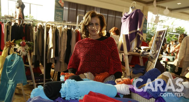 Patricia Payro en el Bazar Navideño de Ambrosia