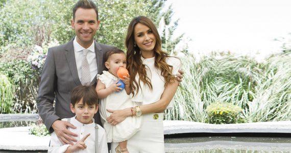Patricio Borghetti y Odalys Ramírez?? bautizan a Gia