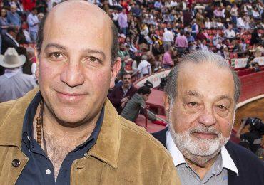 Patrick y Carlos Slim en la Plaza de Toros México