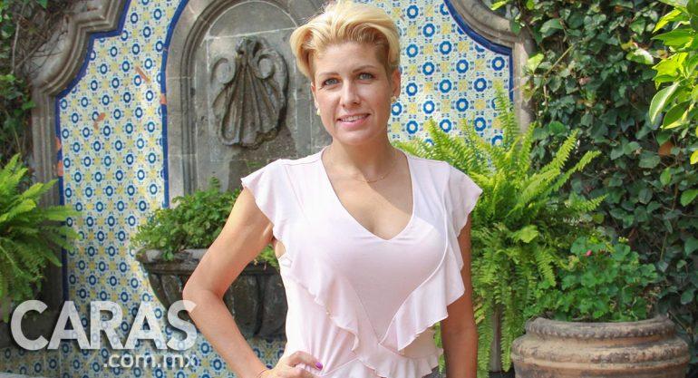 Paulina Díaz Ordaz en la clase de cocina de Heinz