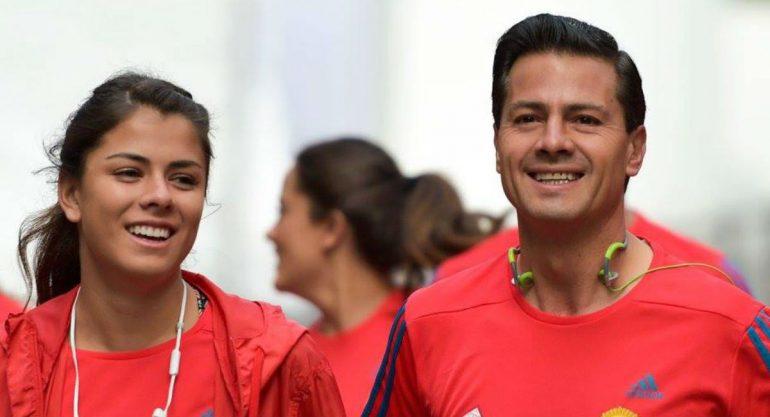 Paulina Peña Pretelini corrió junto a su papá la carrera Molino del Rey
