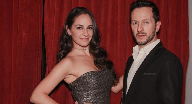 Paulina y Óscar Madrazo asisten al karaoke con María José