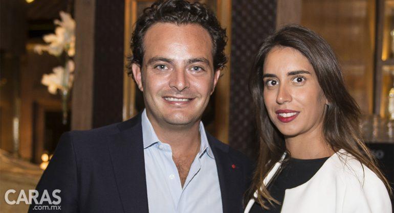 Pepe Cuaik y Carla Braun en la inauguración de Sylvestre Vía Santa Fe